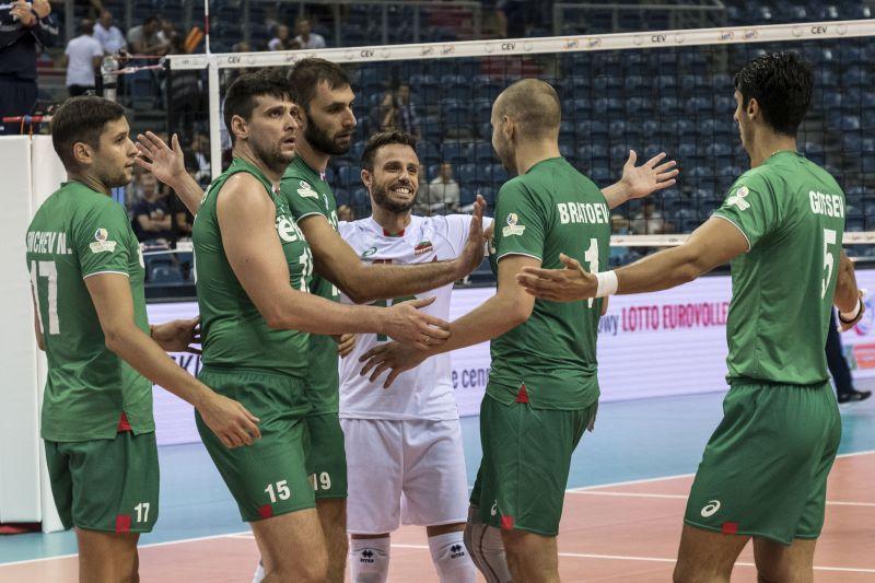 България записа първа победа на Евроволей 2017