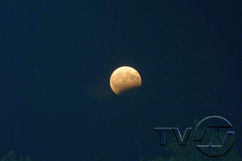 Частично лунно затъмнение точно 50 години след старта към Луната