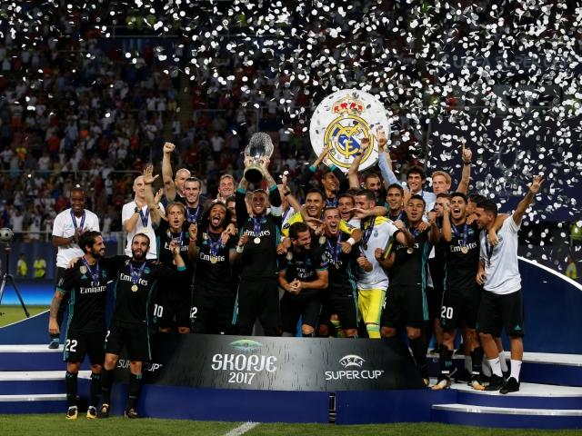 """""""Реал"""" (Мадрид) триумфира със Суперкупата на Европа"""
