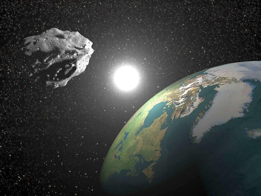 Астероид с размерите на