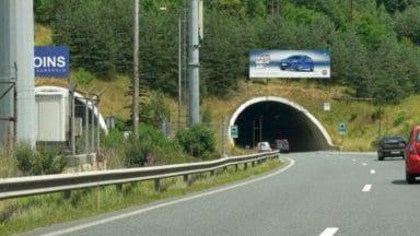 "промени в движението през тунела ""Витиня"""