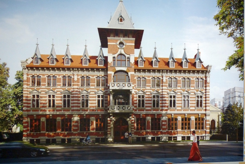 един от архитектурните бисери на Русе