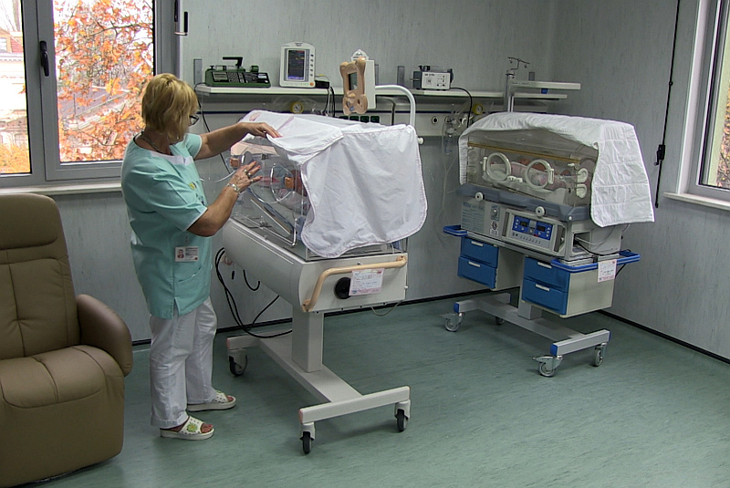 Бебе с тегло 1000 гр. е първият пациент