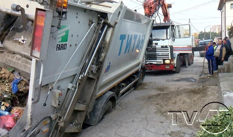 "Камион пропадна на ул. ""Св. Неделя"""