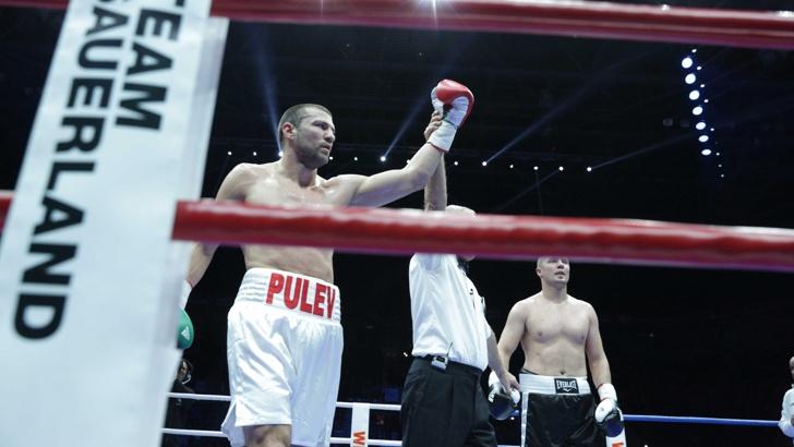Тервел Пулев записа шеста победа