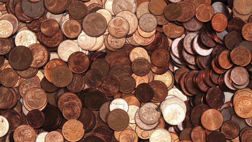 Италия изважда от обращение монетите от 1 и 2 цента