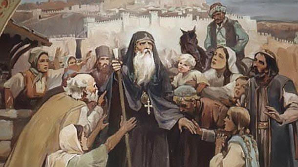 основателя на Ивановския скален манастир