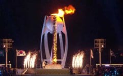 олимпийския огън