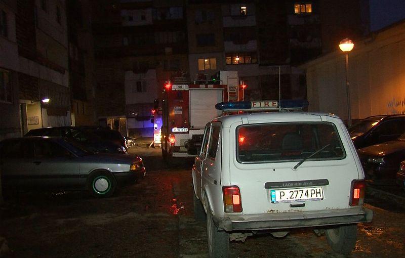 Човек загина при пожар в центъра на Русе