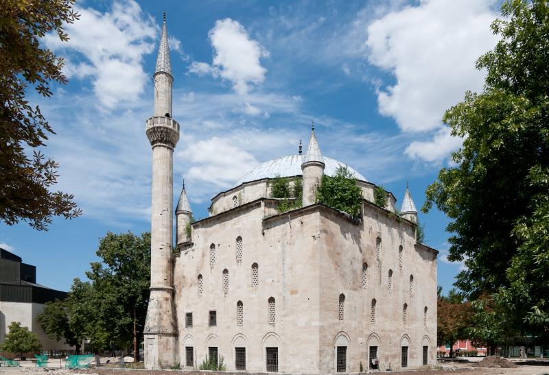 """джамията """"Макбул Ибрахим паша"""" в Разград"""