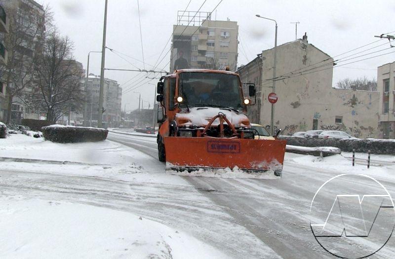 Община Русе е в готовност да посрещне чукащата на вратата зима