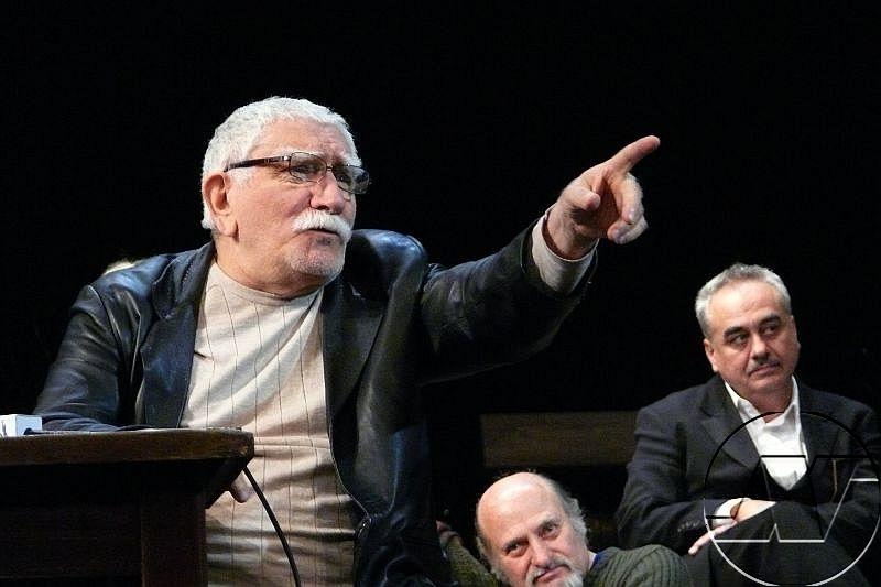 Световноизвестният артист Армен Джигарханян