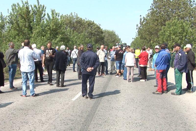 протестираха на пътя Русе – Силистра