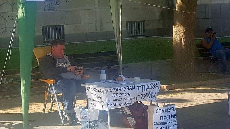 Русенец обяви гладна стачка заради начислени данъци от НАП