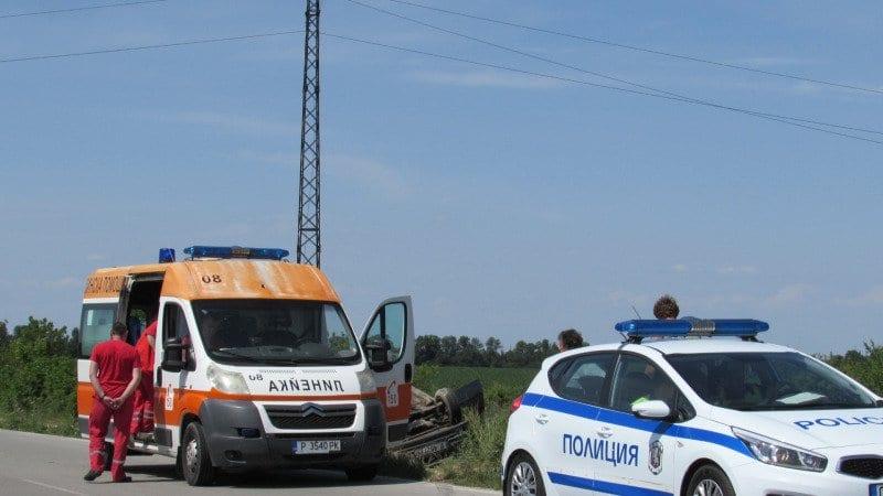Поредна катастрофа на пътя Русе – Бяла затруднява движението