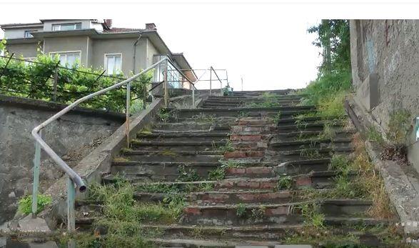 обществени стълбища