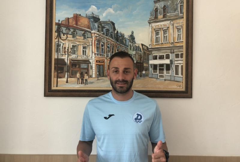"""Футболистът на """"Дунав"""" Борислав Балджийски"""