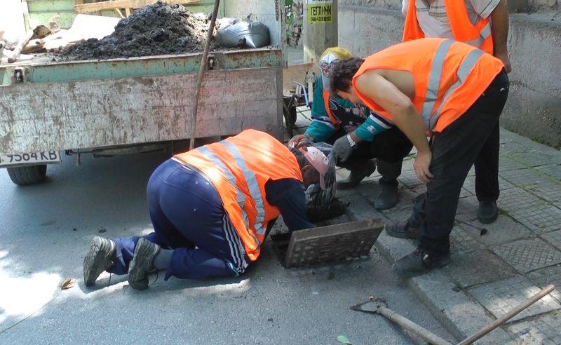 шахти и улични оттоци