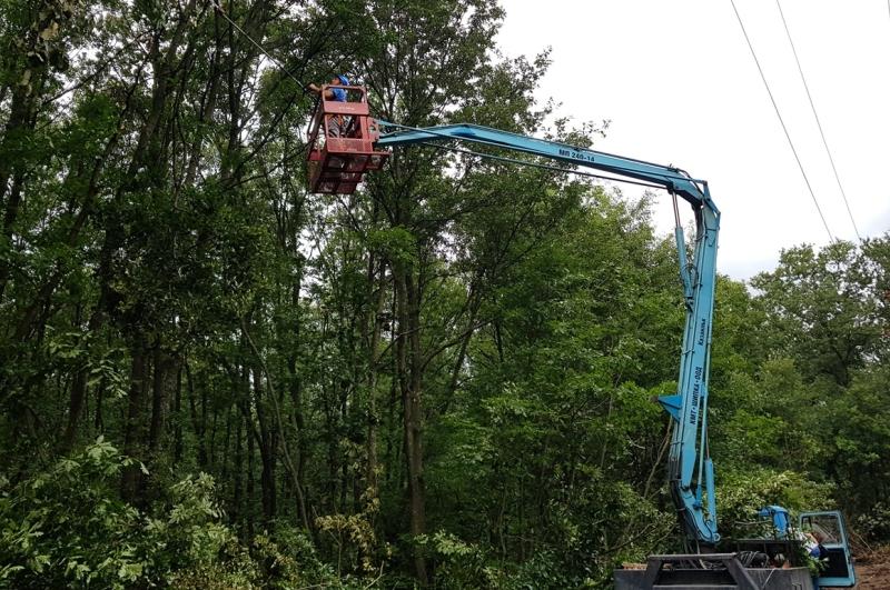 сигурността на електрозахранването в област Русе