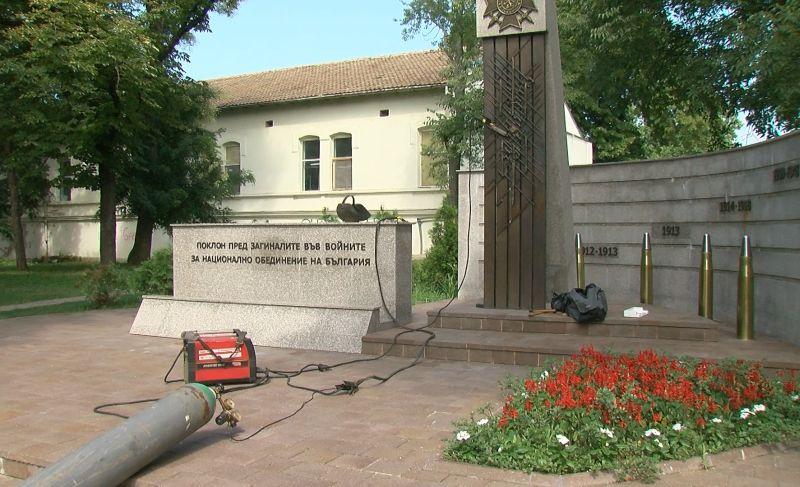 Мемориала на загиналите във войните в Русе