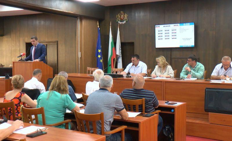 духовете на сесията на Общинския съвет