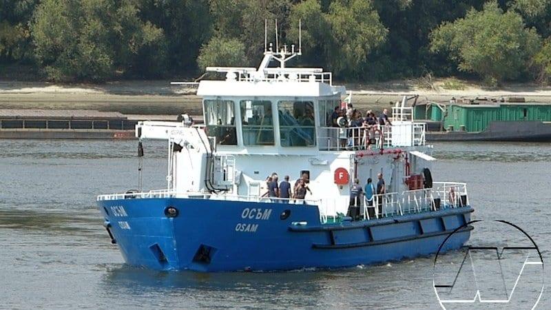 """""""Осъм"""" е най-новият член на флотилията на ИАППД"""