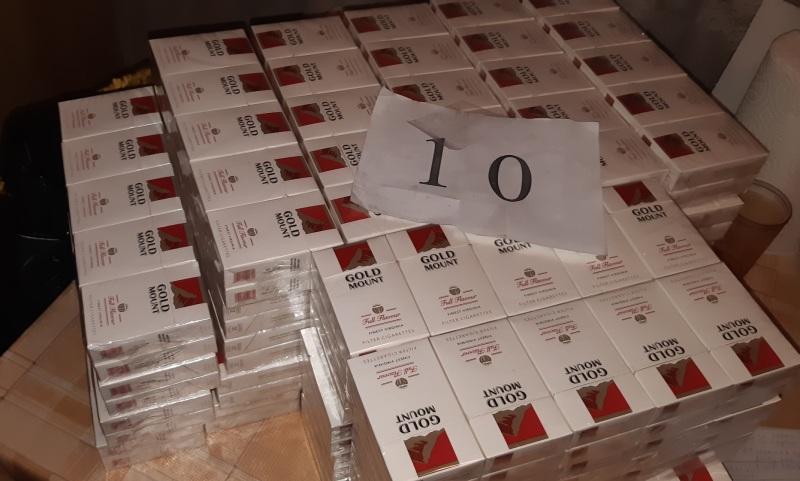 900 кутии цигари