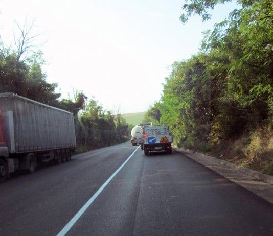 Ремонтът на пътя Русе - Велико Търново