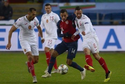 България падна от Норвегия