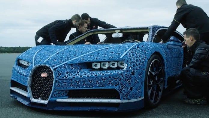 LEGO представи Bugatti Chiron