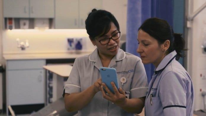 Google и британското здравеопазване