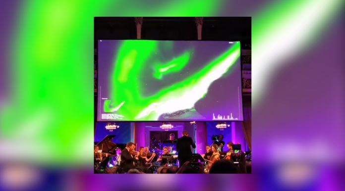 Първият AI симфоничен концерт с участие на Северното сияние