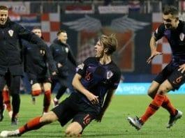 Хърватия победи Испания