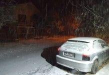 Първият сняг заваля тази нощ