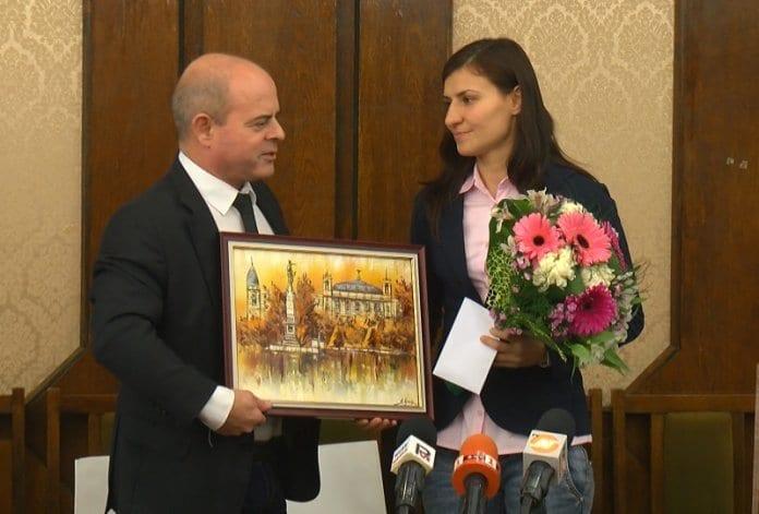 Световната вицешампионка Стойка Петрова