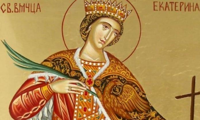 Православната църква почита света великомъченица Екатерина