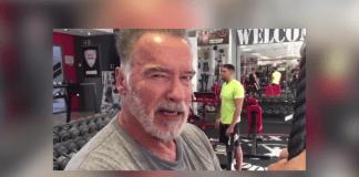 На 71-годишна възраст Арнолд Шварценегер все още тренира
