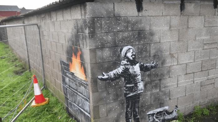 Нова творба на Банкси срещу замърсяването на въздуха