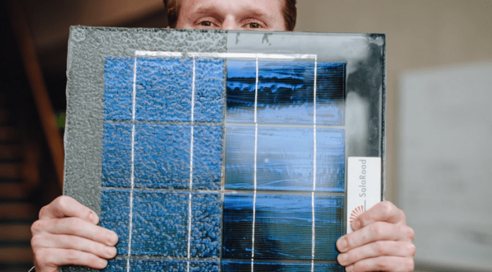 Първият соларен път в Германия