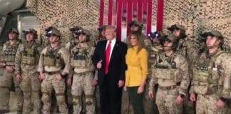 Тръмп разкри самоличността на действащи командоси в Ирак