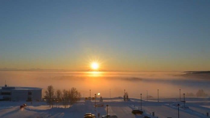 Къде Слънцето залезе и ще изгрее отново чак през януари?