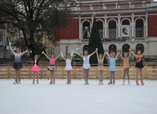 Фееричен танцов спектакъл върху лед
