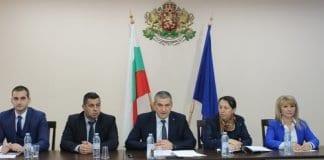 Област Русе поема председателството на Северен централен район от 1 януари 2019 г. Днес областният управител Галин Григоров прие председателството
