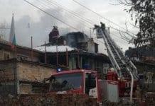 """Пожар унищожи няколко къщи в старинния квартал """"Вароша"""" във Велико Търново тази сутрин , съобщи кореспондентът на ТВН за региона."""