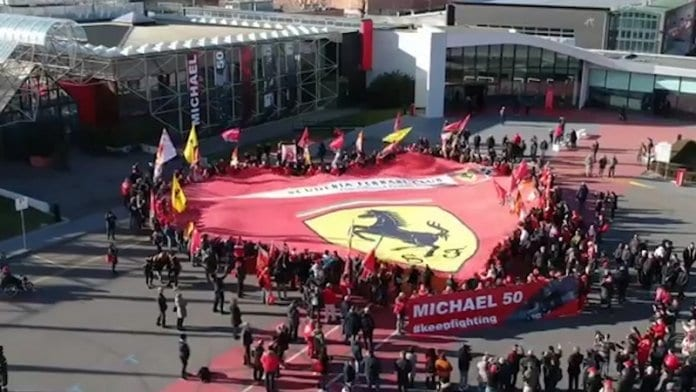 """Ферари"" почете 50-годишнината на Михаел Шумахер"