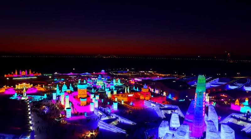 В Китай беше открит най-големият в света фестивал на леда и снега