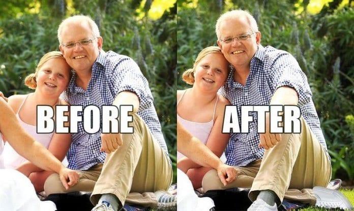 Премиерът на Австралия – с два леви крака