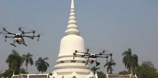 В Банкок се борят срещу смога… с дронове