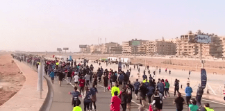 Състоя се маратон около пирамидите в Гиза