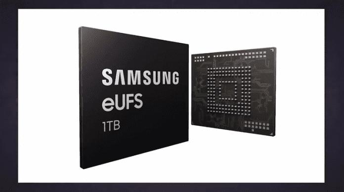 Samsung планира смартфони с 1 терабайт памет